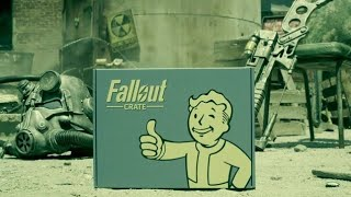 UNBOXING FALLOUT CRATE NOVEMBRE + résultats concours Fallout 76