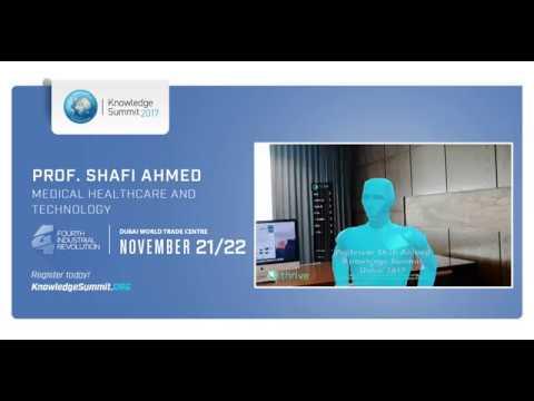 Knowledge Summit 2017 - Dr. Shafi Ahmed   قمة المعرفة 2017 - الدكتور شافي أحمد