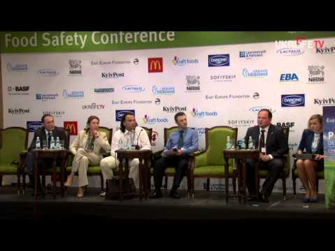 """Kyiv Post + EEF Conference: """"Protecting Ukraine's Food Supply: Quantity, Quality, Safety"""", Panel 4"""