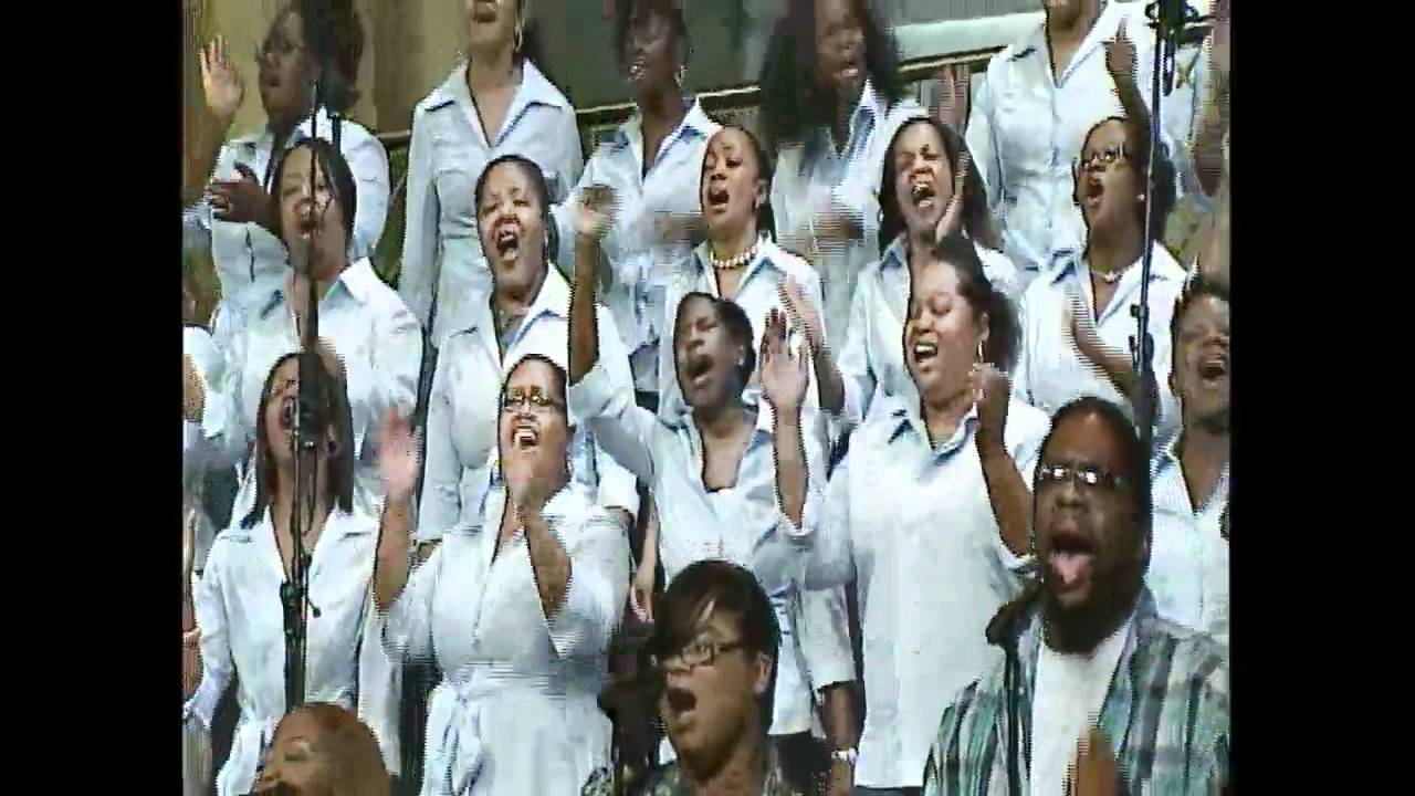 """How Great Is Our God"" Young Adult Choir - YouTube"
