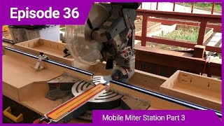 Mobile Miter Station Part 3 - Torsion box top and finishing touches.