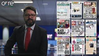 Black Monday, Brexit Negotiations & Plastics - Headline Focus 11-12-17