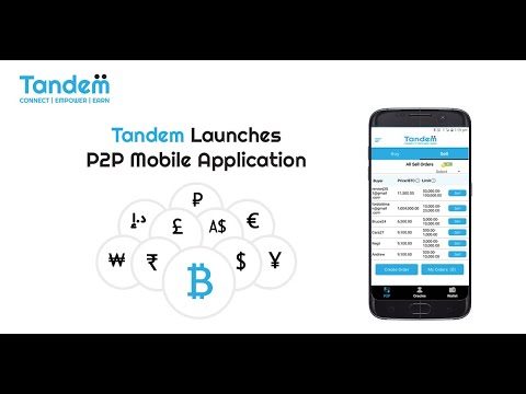 tandem-launches-p2p-mobile-application-|-best-bitcoin-trading-app