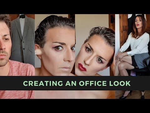 Crossdressing Transformation - Creating An Office Look!