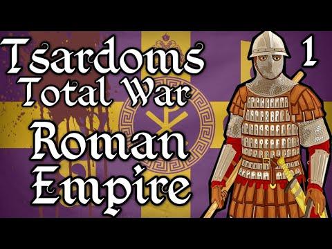 Tsardoms Total War: Medieval 2 (Beta) - Roman Empire EP1 - Fragmented Empire!
