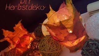 DIY Herbstdeko: Teelicht || Kooperation mit Nicky L Thumbnail