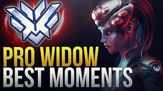 BEST PRO WIDOWMAKER MOMENTS - Overwatch Montage
