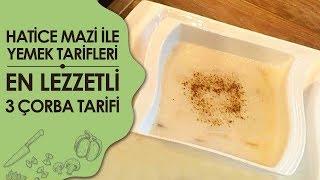 Terbiyeli Tavuk Suyu Çorbası Tarifi | Hatice Mazı ile Yemek Tarifleri