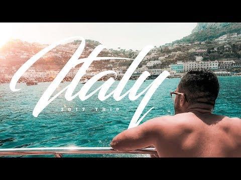 Italy Trip 2017 | Visiting Amalfi Coast, Capri, Positano, Ravello, Rome, Pompeii, Tropea & Calabria