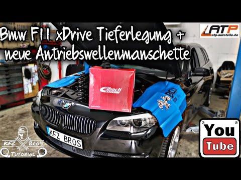 bmw-f11-xdrive-federn-vorne-+-antriebswellenmanschette-wechseln-|-anleitung-|-drehmomentwerte