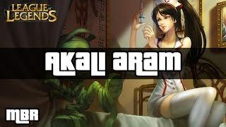 Nurse Akali - ARAM - League of Legends - HD