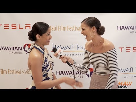 Malika Interviews Freida Pinto at Maui Film Festival 2017
