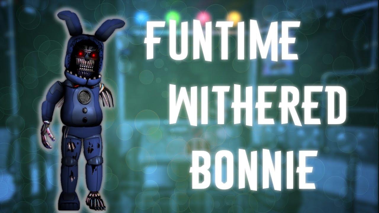 [FNAF   Speed Edit] Making Funtime Withered Bonnie (FNaF 2)
