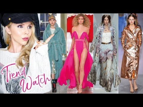 London Fashion Week TRENDS // SS18 // catwalk, fashion, designers!