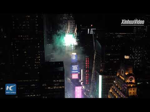 LIVE: 2020 Times Square Ball Drop in New York City