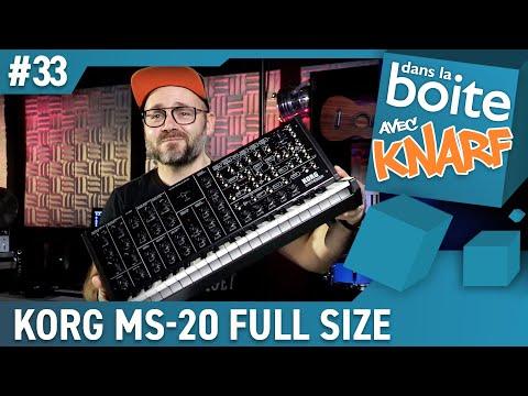 Le Synthé qui manquait à ACDC !!! Le Korg MS-20 FS Dans la Boite ! (vidéo Boite Noire du Musicien)