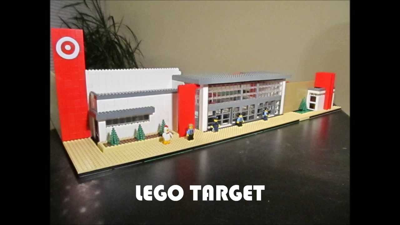 LEGO TARGET STORE StopMotion Video  YouTube