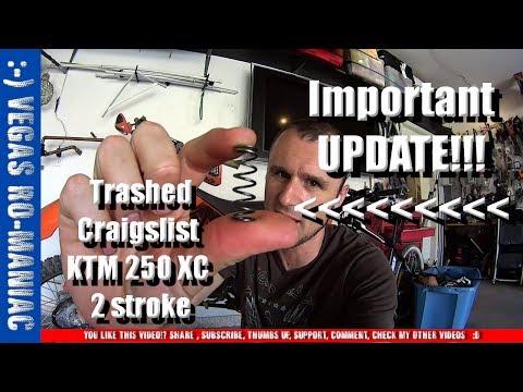 "Important UPDATE, KTM 250 XC POWER VALVE SPRING ""PROBLEM"" FIX"