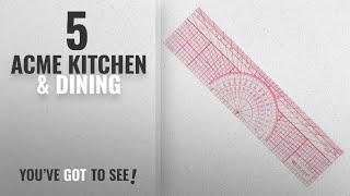 Acme Top 10 Kitchen & Dining [2018]: Westcott Engineers