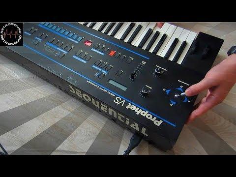 Sequential Prophet VS Vector Synthesizer (1986) 80s Stranger Things John Carpenter music style