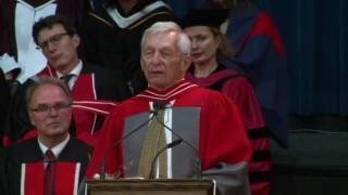 David William Schindler, Convocation 2016 Honorary Degree recipient