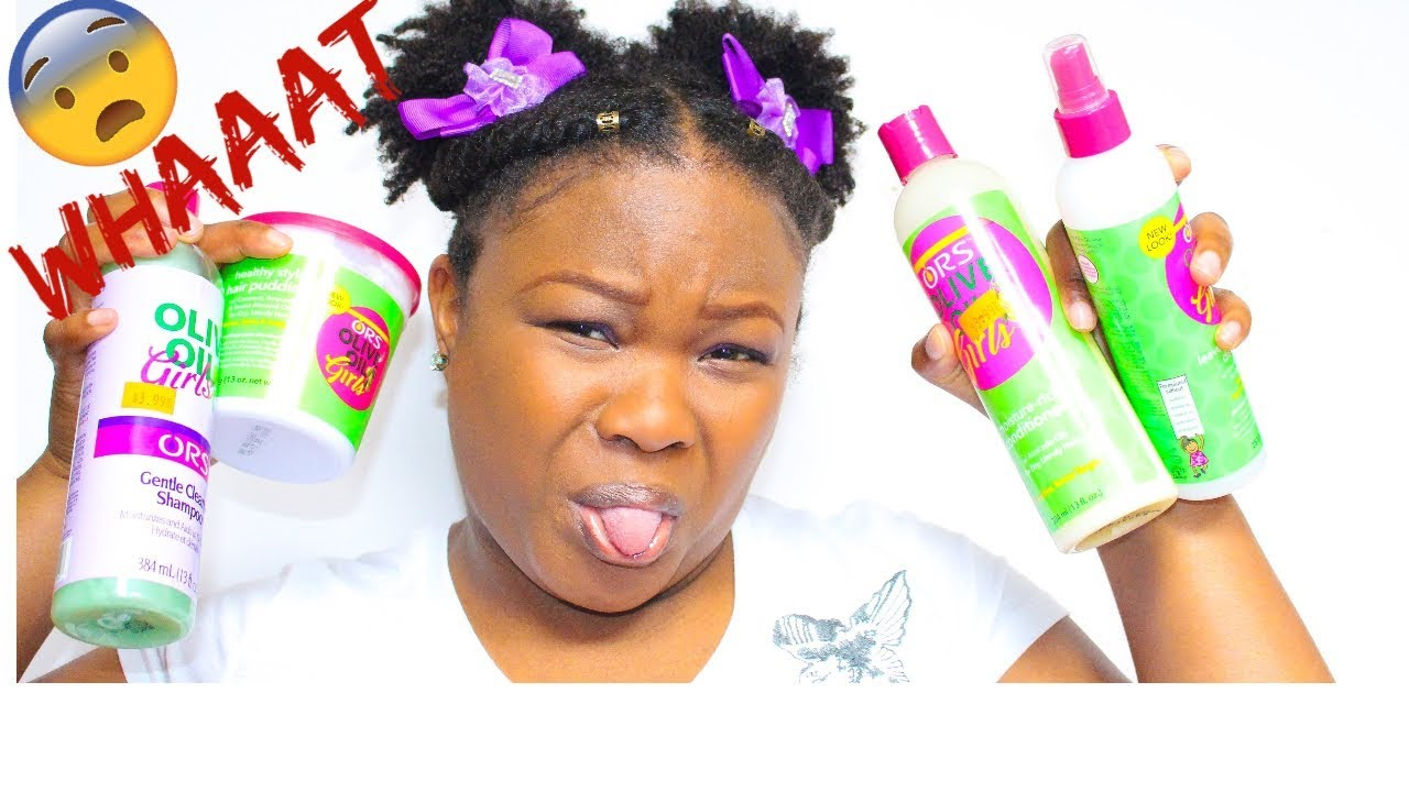 I Tried using Kids Hair Products on my Natural Hair!|Kids Hair ...