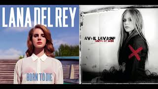 My Happy Anthem - Lana Del Rey vs. Avril Lavigne (Mashup)