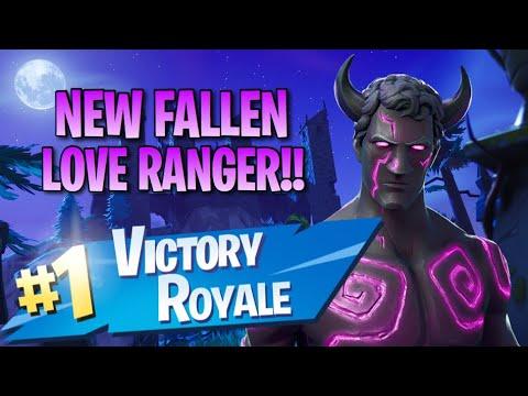 """New """"Fallen Love Ranger"""" Skin!! 10 Elims!! - Fortnite ..."""