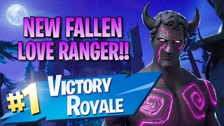 "New ""Fallen Love Ranger"" Skin!! 10 Elims!! - Fortnite: Battle Royale Gameplay"