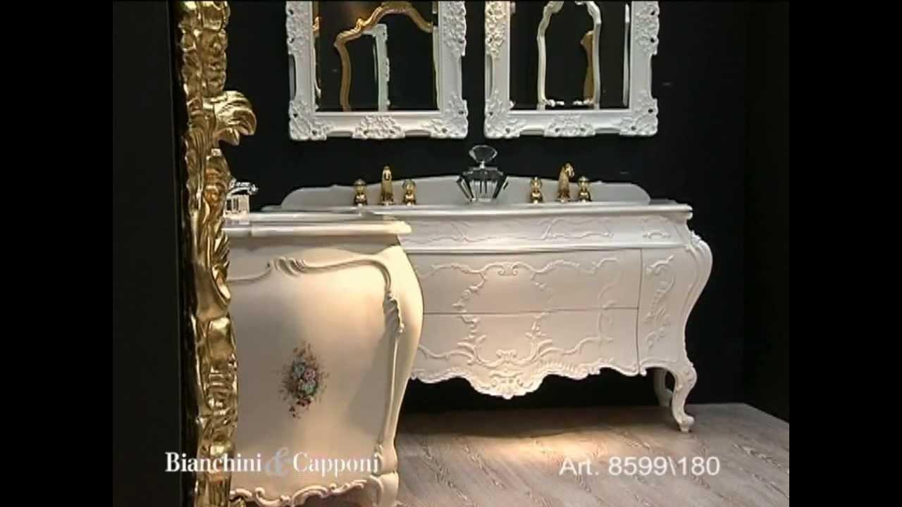 Mobile bagno rinascimento doppio lavabo art 8599 180 - Lavabo doppio bagno ...