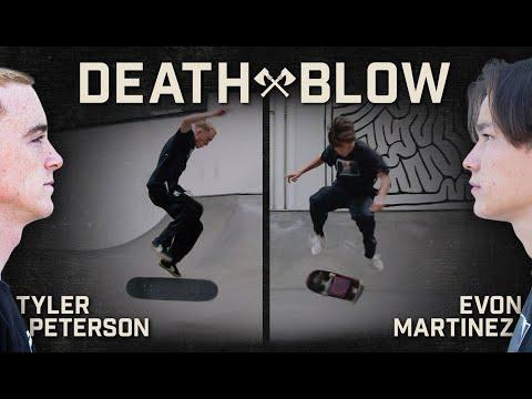 Caballerial Bigspin Kickflip Vs. Late Hardflip?! | DEATH BLOW