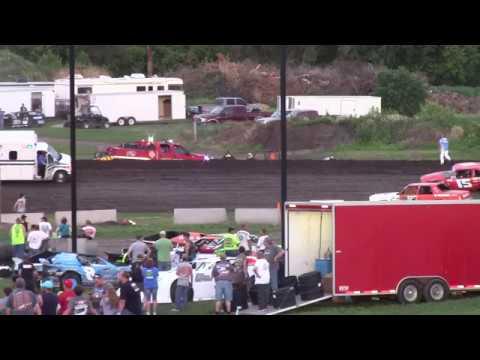 Wild Ride for Leon Sneller -- 6/16/17 -- Rapid Speedway