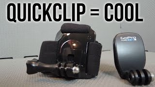 GoPro Head Strap + Quick Clip Review