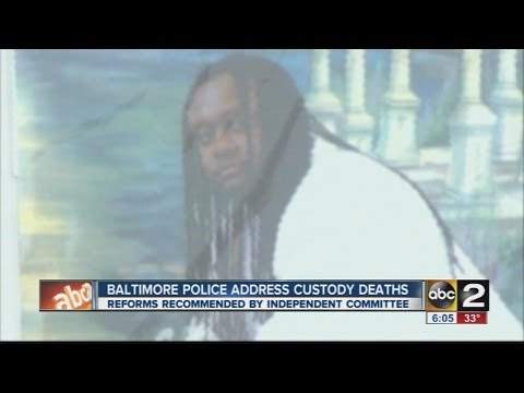 Baltimore police address death of Anthony Anderson