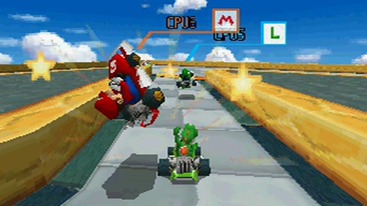 Mario Kart DS - The Cutting Room Floor