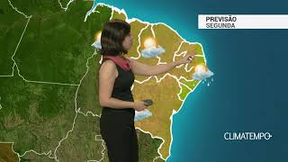 Previsão Nordeste – Ar seco cobre a Região