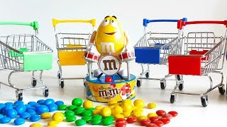 "Learn Colors With M&M""s Toys Colorful Balloons  Kids for videos"