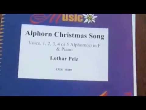 Alphorn Weihnachtslieder.Alphorn Christmas Song For 1 5 Alphorns And Piano