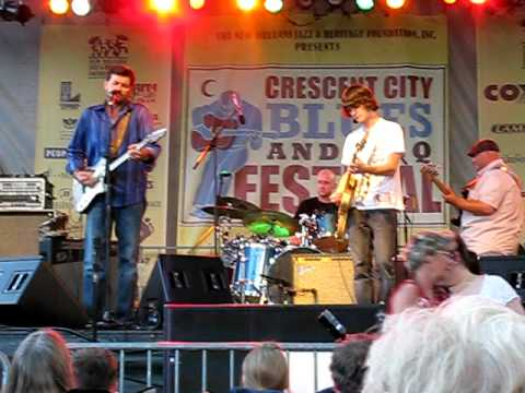 """Tab Benoit and Chance Casteel - """"Her Mind Is Gone"""""""