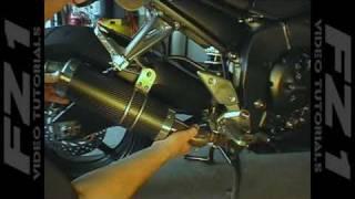 gp1200r Exhaust Bracket Yamaha 1100 Raider Gp1200