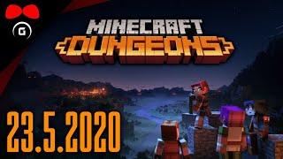Фото Minecraft Dungeons 15 23.5.2020 Agraelus FlyGunCZ Herdyn Growey