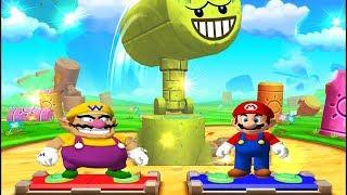 Mario Party 5 - Skill Minigames - Mario vs Luigi vs Wario vs Luigi (Master Difficult)