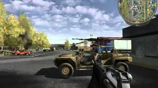 Battlefield 2 gameplay armored fury autopista pc espñol