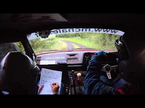 John Warren & Ruthann O'Connor, Sligo Stages Rally 2012 Highlights, Part 2