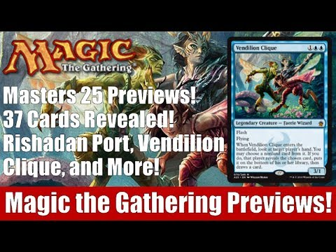 MTG Masters 25 Previews! 37 Cards Revealed Including Rishada