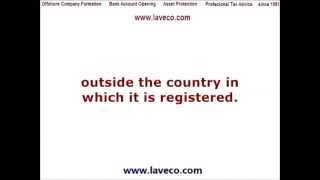 What is an Offshore company? How to establish an Offshore Company?(Call us now +357 24636919 or skype: laveco_cyprus What is an Offshore company and How to establish an Offshore Company? http://www.laveco.com An ..., 2013-05-27T21:41:34.000Z)