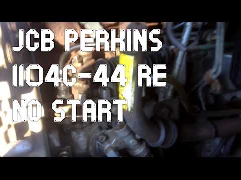 JCB Perkins No Start Electric Lift Pump Replacement