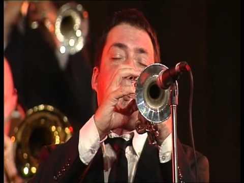 """Angel Zaberski big band """"Brass Acotiation"""""""