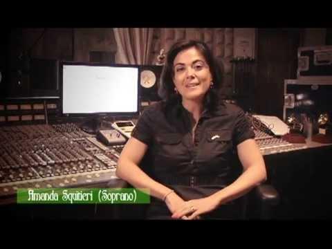 Soprano Amanda Squitieri presenting Yalil Guerra's upcoming concert.