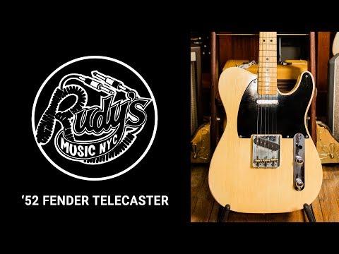 1952 Fender Telecaster Demo - Rudy's Music Shop